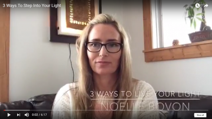 3 Ways To Live Your Light