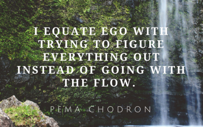 Going With The Flow Makes Life Easier