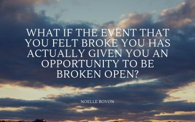 The Difference Between Being Broken & Being Broken Open
