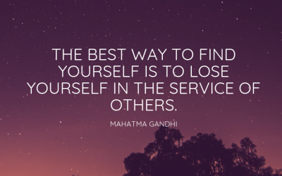 The Power of Being of Service